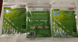 CVS Health 3 In 1 Interdental Cleaners Flossers,Brush & Pic