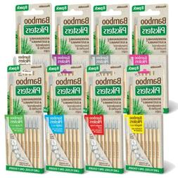 Bamboo Piksters Interdental Brushes 8 Pack Choose Size 00 to