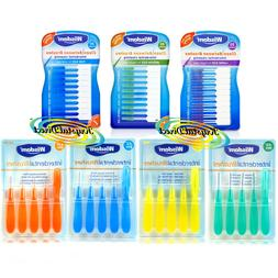 clean between interdental brushes rubber or wire