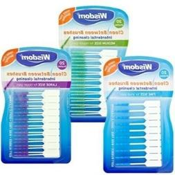 Wisdom Clean Between Interdental Brushes Wire Free Pack of 2