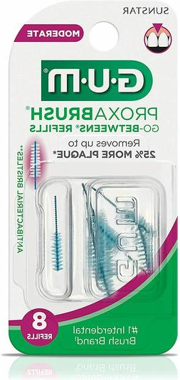 GUM Go-Betweens Proxabrush Cleaners Tight - 8 ct by Unknown