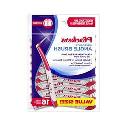 Plackers Interdental Angled Brush, 10 Count