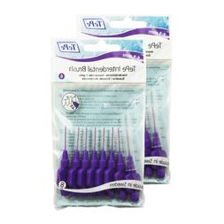 TePe Interdental Brushes 1.1mm Purple - 2 Packets of 8