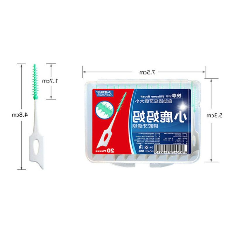 5 Boxes Creative Safe Silicome Oral Cleaning Teeth