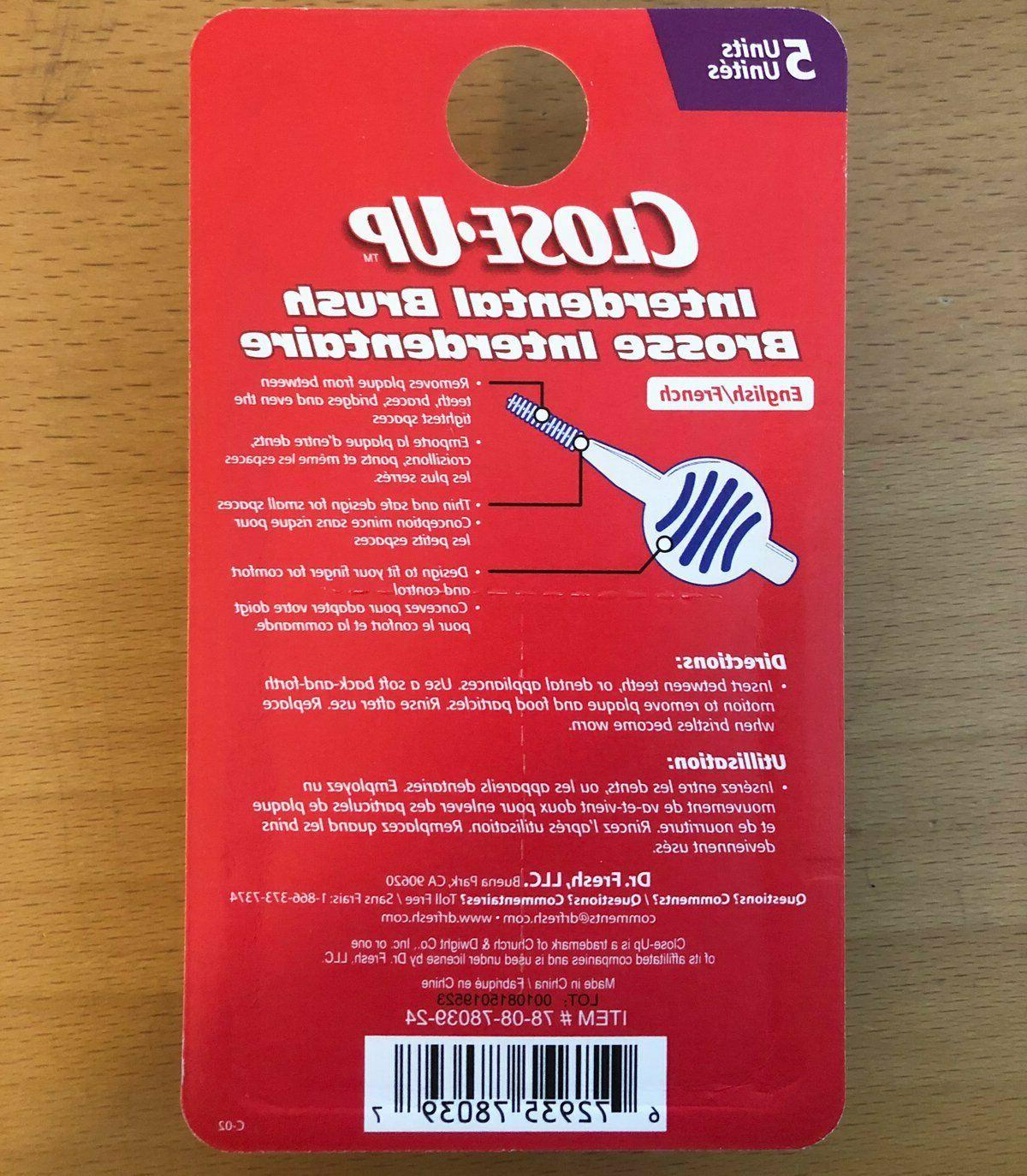 Close-Up Interdental Cleaners 5 Pack