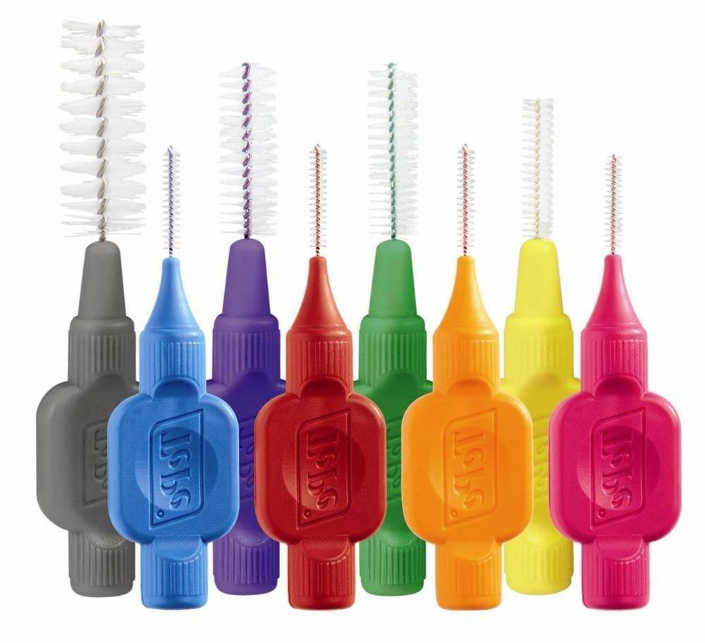 interdental brushes all colours and sizes multi