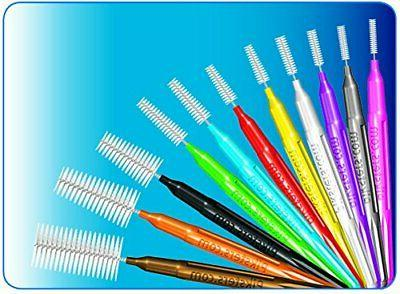 Piksters Interdental Brushes 40pk Size 7 Strong Plastic Coated